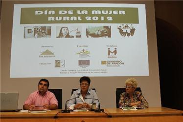 Presentación del Día de la Mujer Rural 2012 en Los Monegros.