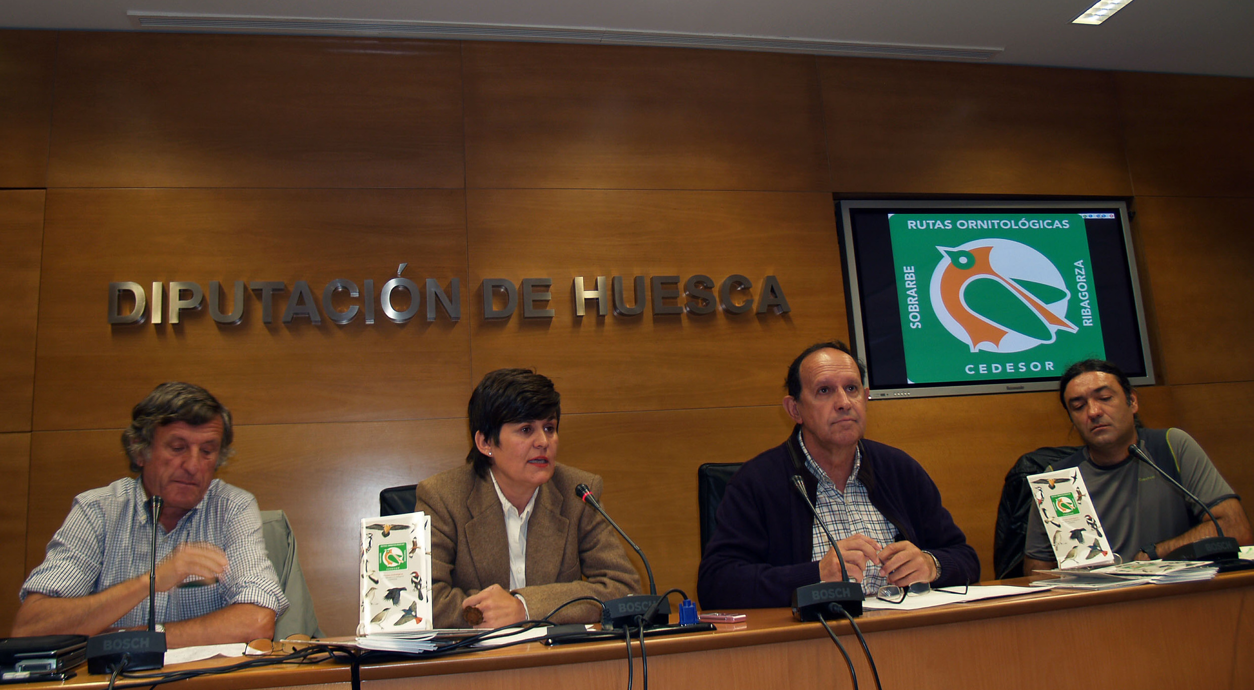 Presentación de las guías ornitológicas de Sobrarbe y Ribagorza.