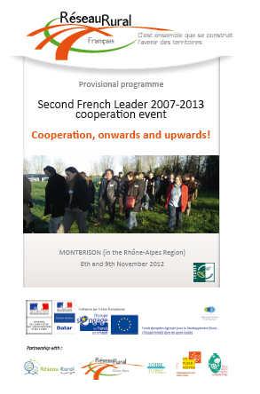 Encuentro cooperación Leader Francia