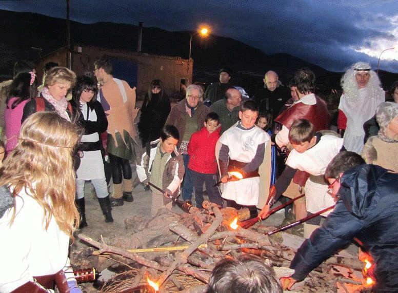 Gotor celebra la fiesta celtíbera de Samhain.