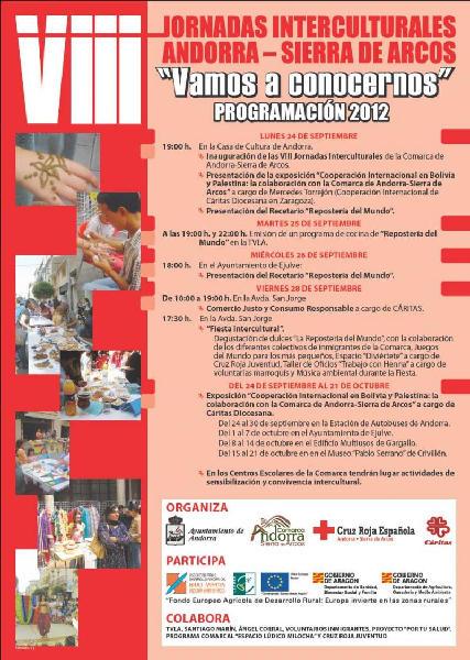 Cartel jornadas intercultural Adibama