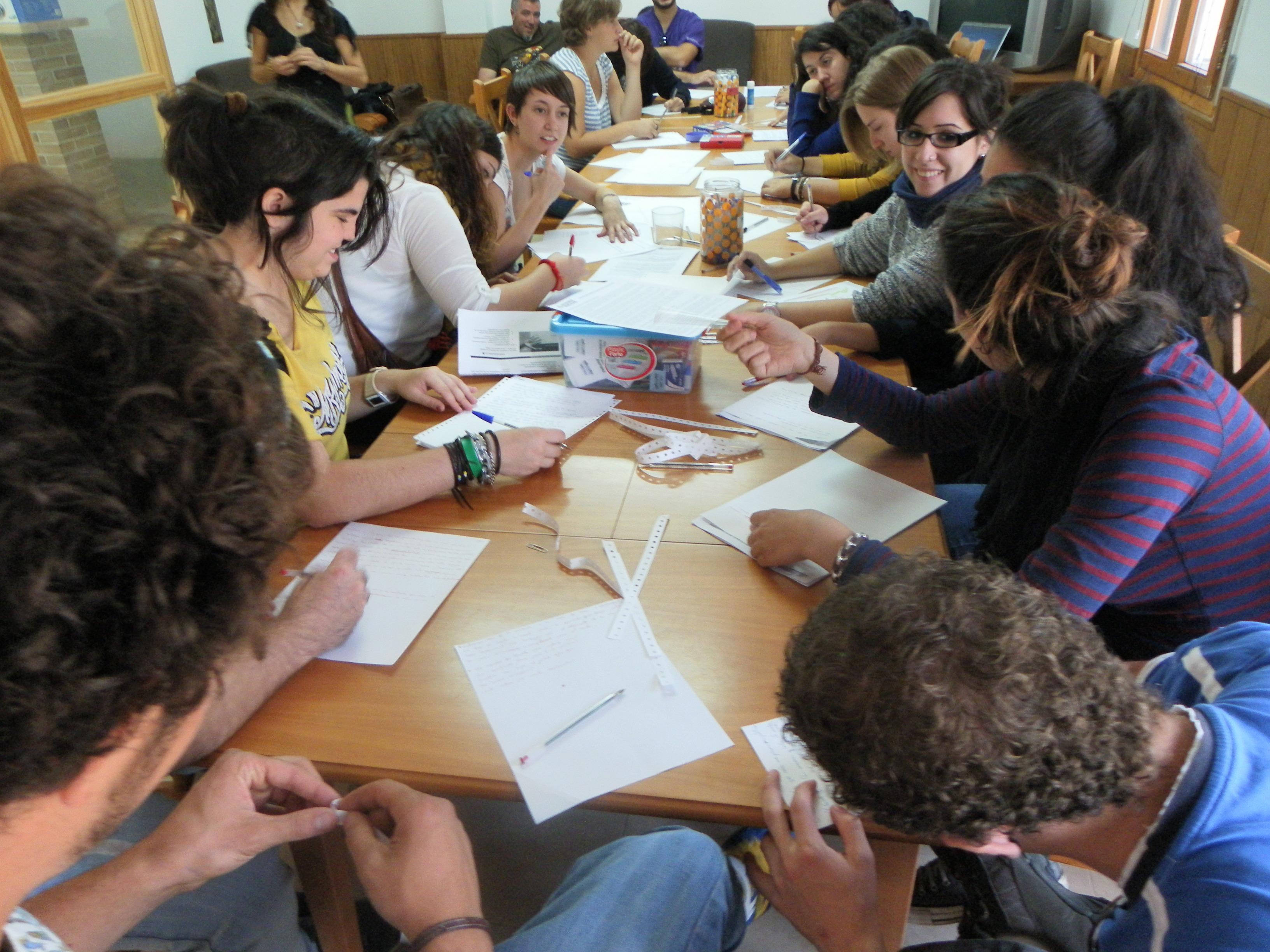 Encuentro de jóvenes dinamizadores rurales en Biota