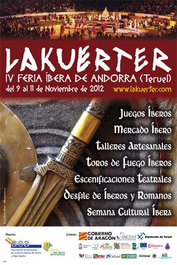 Cartel de Lakuerter 2012.