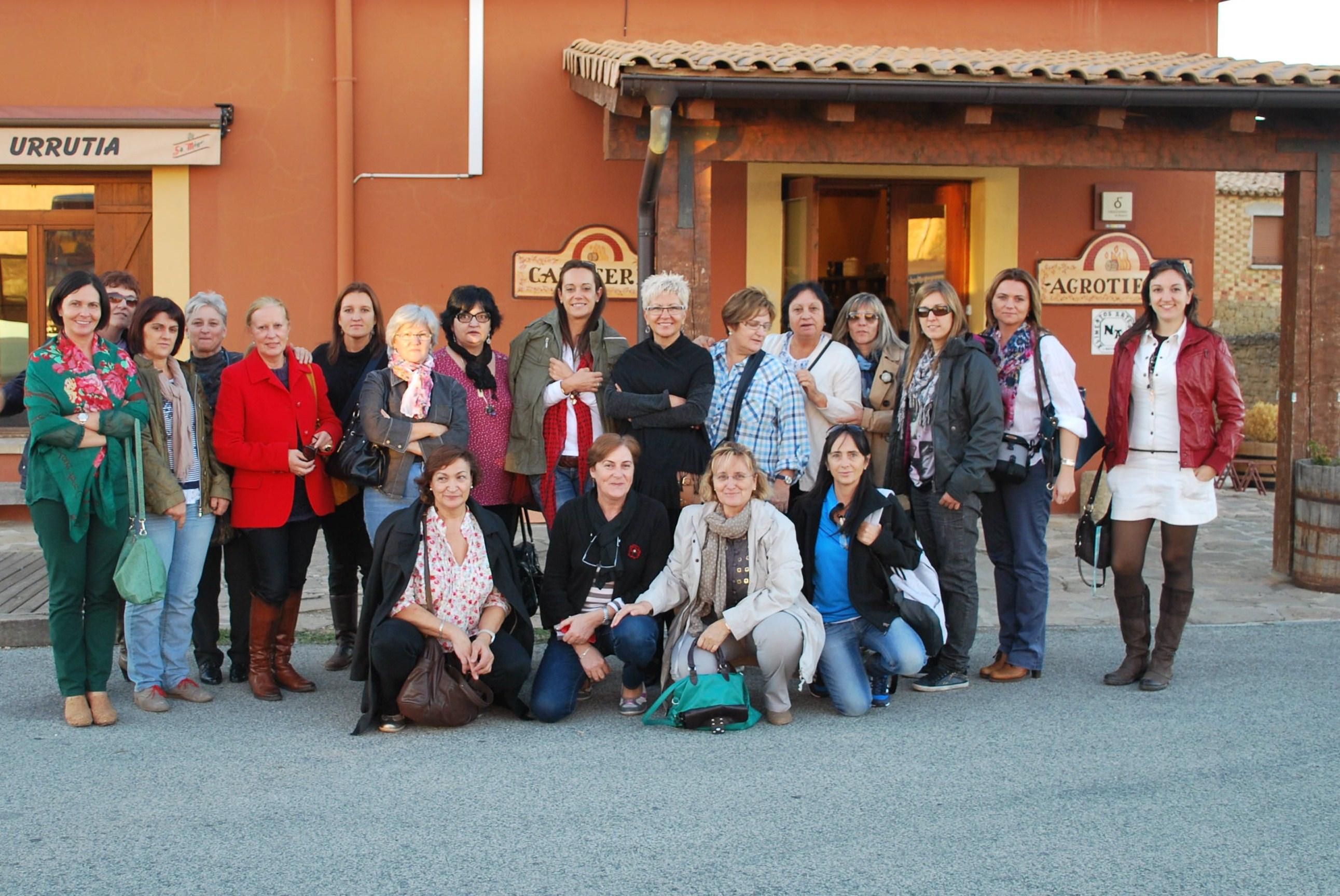 Mujeres emprendedoras de visita en Navarra