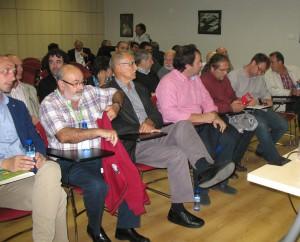 Algunos de los asistentes a la asamblea de RADR de 14 de octubre