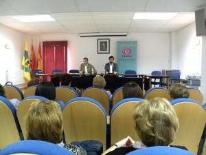 Charla sobre titularidad compartida en Robres, en el marco del proyecto Concilia