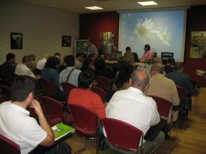La asamblea se celebró en el Centro de Congresos de Barbastro