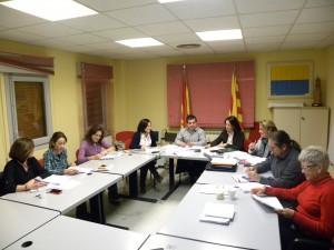 Foto sesión trabajo comisión Técnica CEDER MONEGROS