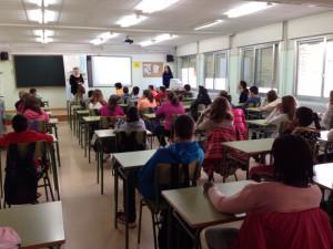 Mediación en las aulas en el IES de Bujaraloz
