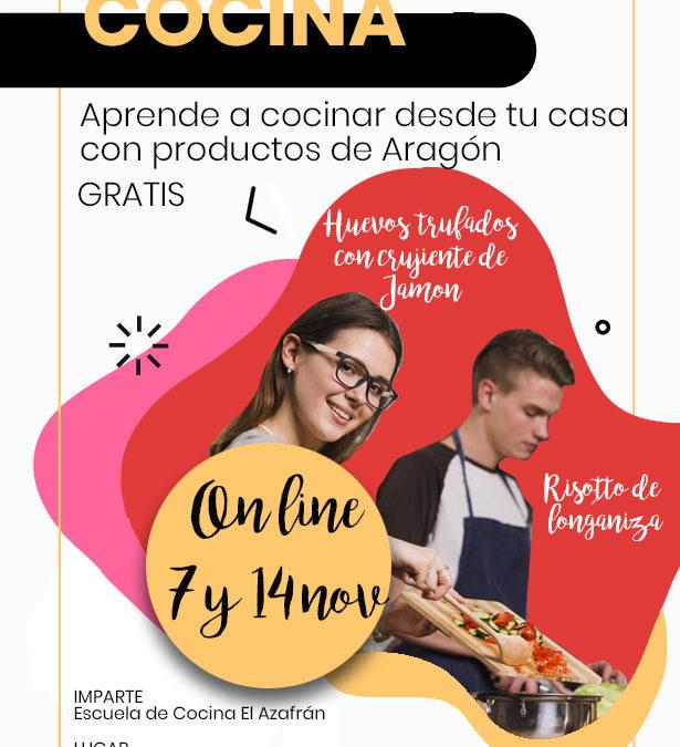 Pon Aragon En Tu Mesa Organiza Cursos De Cocina En Linea Con Ingredientes Locales Aragon Rural